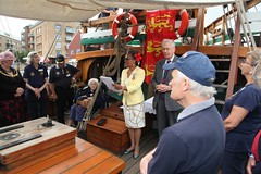 Duke of Gloucester Vist to SS Mathew to present Queens award  for volunteers  image no 39