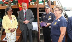 Duke of Gloucester Vist to SS Mathew to present Queens award  for volunteers  image no 43