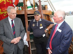 Duke of Gloucester Vist to SS Mathew to present Queens award  for volunteers  image no 46