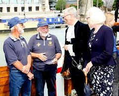 Duke of Gloucester Vist to SS Mathew to present Queens award  for volunteers  image no 52