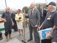 Duke of Gloucester Vist to SS Mathew to present Queens award  for volunteers  image no 29