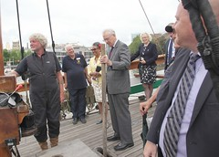 Duke of Gloucester Vist to SS Mathew to present Queens award  for volunteers  image no 30