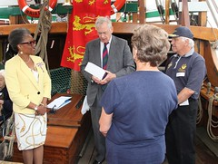 Duke of Gloucester Vist to SS Mathew to present Queens award  for volunteers  image no 40