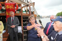 Duke of Gloucester Vist to SS Mathew to present Queens award  for volunteers  image no 41