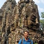 Angkor Thom mit dem Bayon & Baphuon Tempel