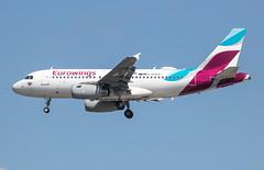 EGLL - Airbus A319-132 - Eurowings - D-AGWD