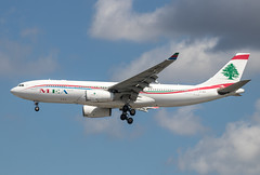 Airbus A330-243 - Middle East Airlines - OO-MEB