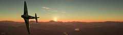 War Thunder / Flying At Dawn (Panorama)