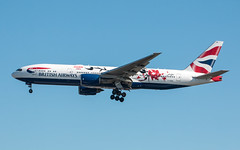 EGLL - Boeing 777-236ER - British Airways - G-YMML