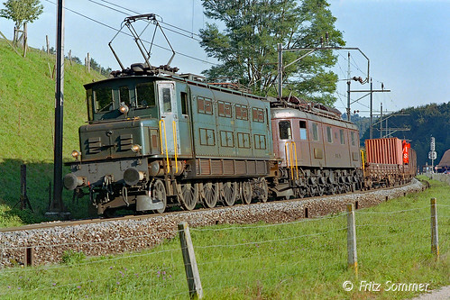 Ae 3/6 I & Ae 6/8 BLS mit Zug 50832, P7279071-3