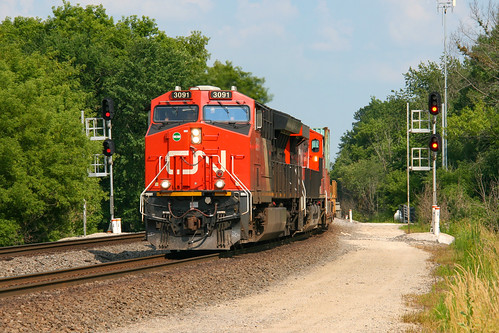CN Q199 at Ackerville