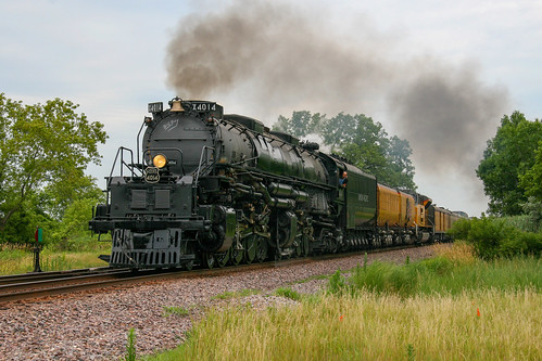 UP Big Boy No. 4014 at Bain