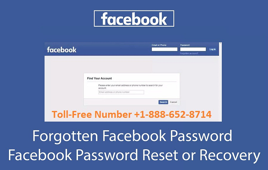 Recover Facebook Account without Phone Number +1 888-652