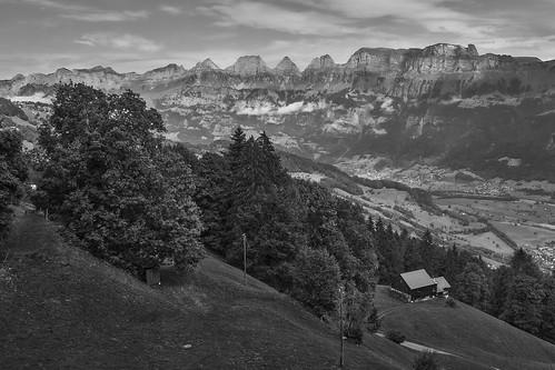Switzerland – View from Flums-Kleinberg