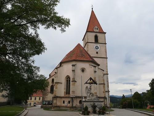 Pfarrkirche hl. Ägydius, Semriach, Austria