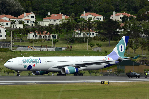 EC-LXA A330-343 cn 670 Evelop Airlines 160730 Lajes Field 1003