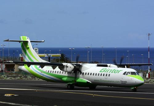 EC-KSG ATR72-212A cn 796 Naysa (Binter) 160628 La Palma 1006