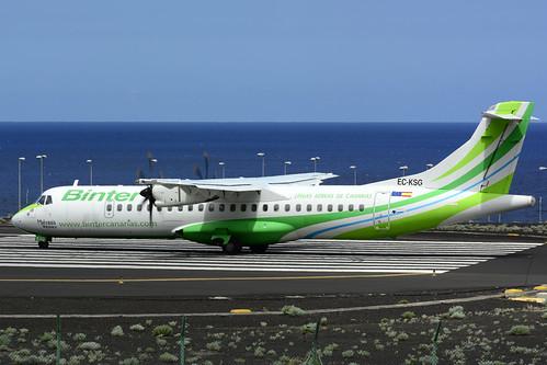 EC-KSG ATR72-212A cn 796 Naysa (Binter) 160628 La Palma 1007