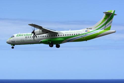 EC-KSG ATR72-212A cn 796 Naysa (Binter) 160628 La Palma 1004