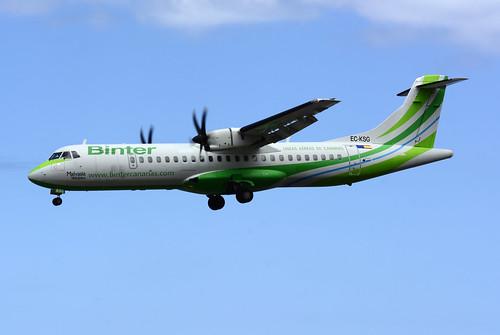 EC-KSG ATR72-212A cn 796 Naysa (Binter) 160628 La Palma 1002