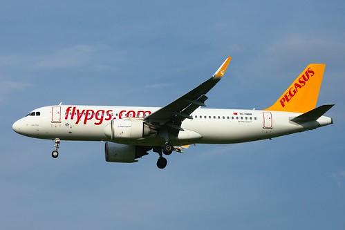 Pegasus Airlines Airbus A320neo TC-NBR