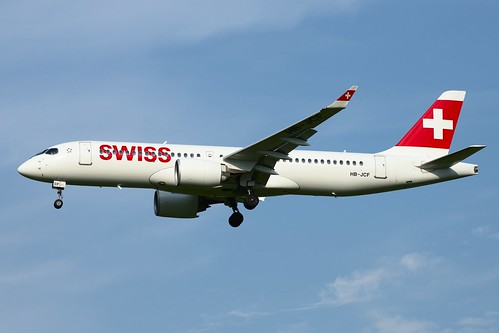 Swiss International Airlines Bombardier CSeries CS300 HB-JCF
