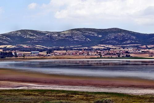 Vista desde el camino de la ermita (Gallocanta)