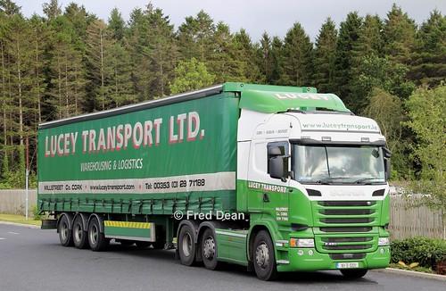 Lucey Transport Scania R450 (161D5231).