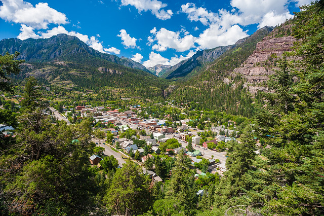 Ouray City View