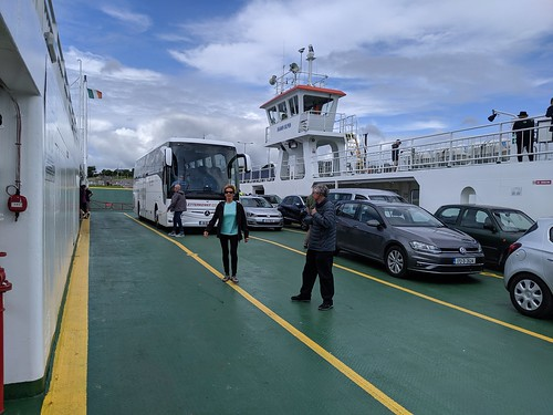 Taking ferry to county Kerry
