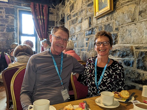 Scones and Coffee at Tyrrellspass Castle