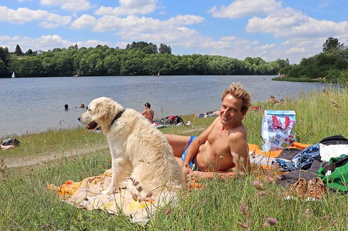 At lake Bütgenbach (3)
