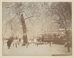 Snow Scene, Uyeno Park, Tokio