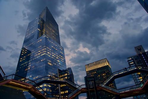 To the sky - hudson Yards, New York City