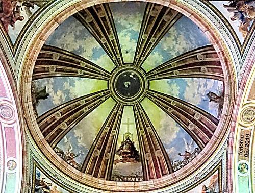 Ocaña (Toledo) 20190622 05 bóveda de iglesia
