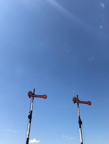 Station Simpelveld, miljoenenlijntje, wolkenstoppers