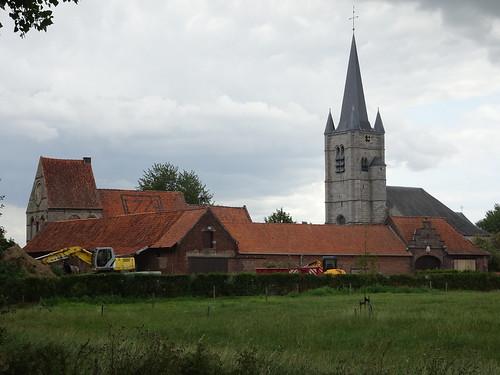 Commanderie et église de Saint-Léger en 2019