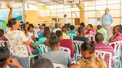 Nuevo Domingo Savio : URBE se reúne con moradores de La Ciénaga y acuerdan continuar los traslados de familia.
