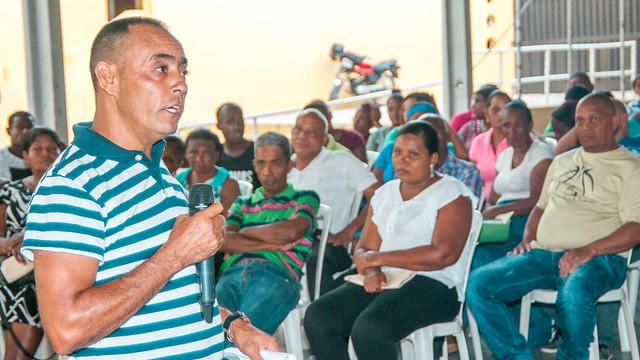 Nuevo Domingo Savio: URBE se reúne con moradores de La Ciénaga y acuerdan continuar los traslados de familias