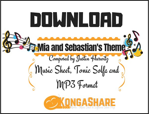 Download Mia And Sebastian S Theme Sheet Music By Justin