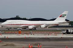 A6-COM | Boeing 747-433M | Dubai Air Wing / Royal Flight