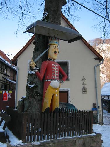 Der Roland zu Questenberg im Harz