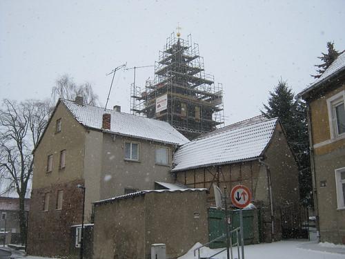 Sankt Galli zu Udersleben, Kyffh im Schneesturm
