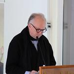 Fr. Bernard de Frileuze giving his speech