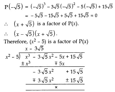 Important Questions for Class 10 Maths Chapter 2 Polynomials