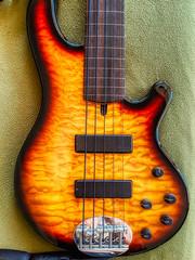 Lakland 55-01 Deluxe fretless bass