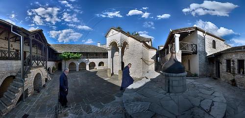 Ιερά Μονή Παναγίας Τσούκας Holy Monastery Virgin MaryTsoukas panorama