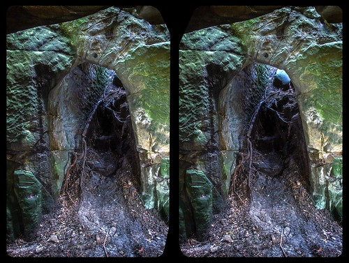 Altenburg doorway 3-D / CrossView / Stereoscopy