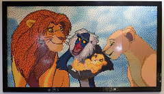 Lego scene from The Lion King