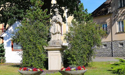 Oberhöflein. Hl.Johannes Nepomuk, 1735 - Rokoko